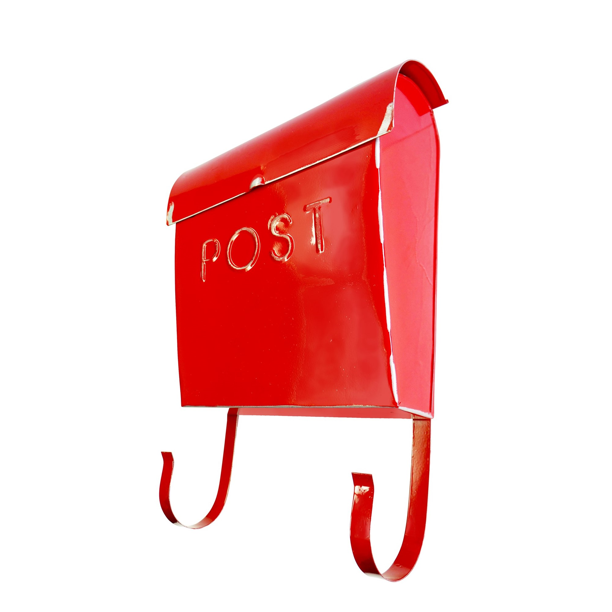 Wall Mount Rustic Red Mailbox Shop Outlet Canada