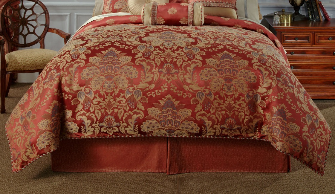 Waterford Linens Hamilton King Bedskirt Shop Outlet Canada