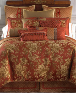 Waterford Linens Mackenna Queen Duvet Cover SOC 1067