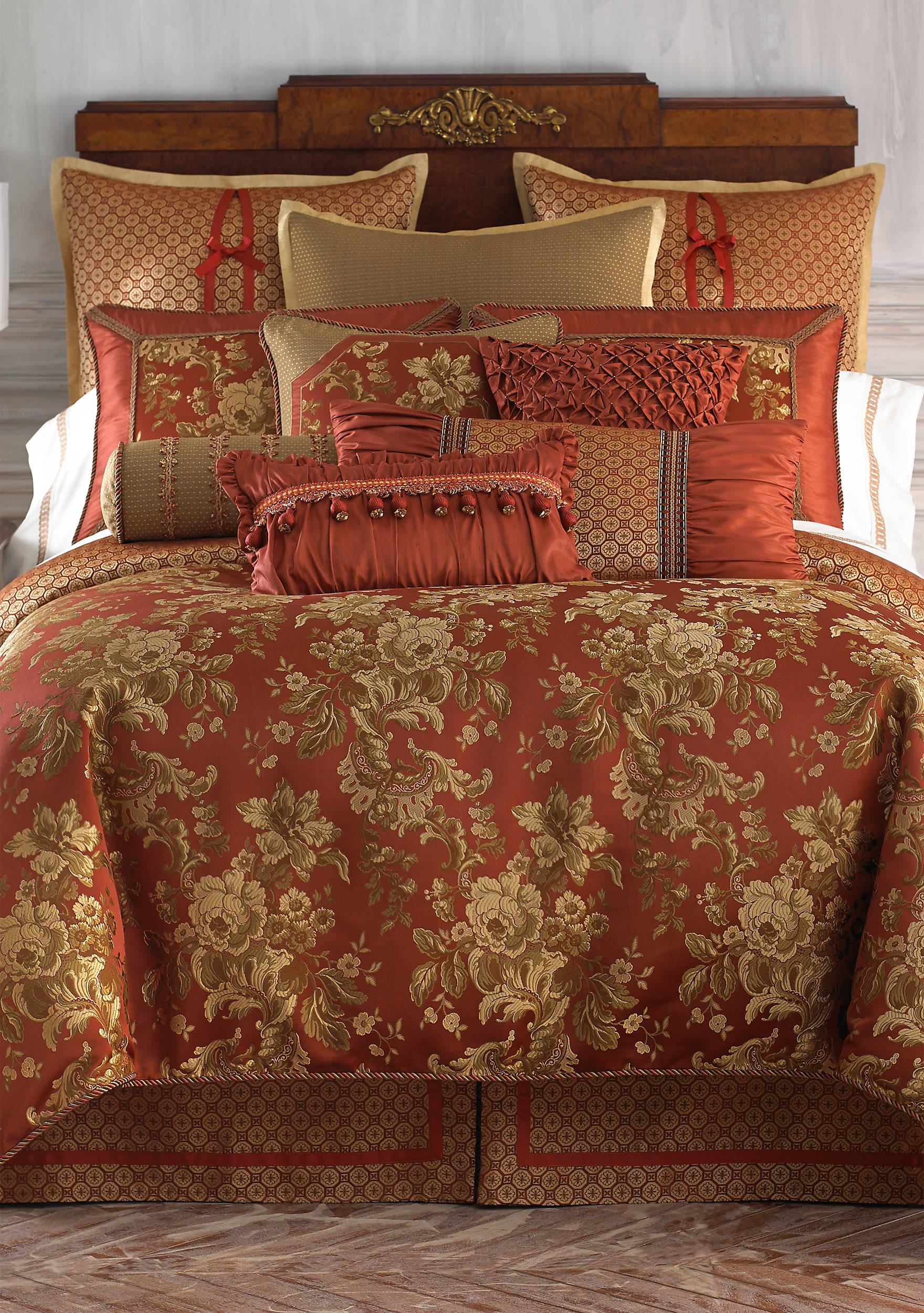 Waterford Linens Mackenna Queen Duvet Cover Shop Outlet