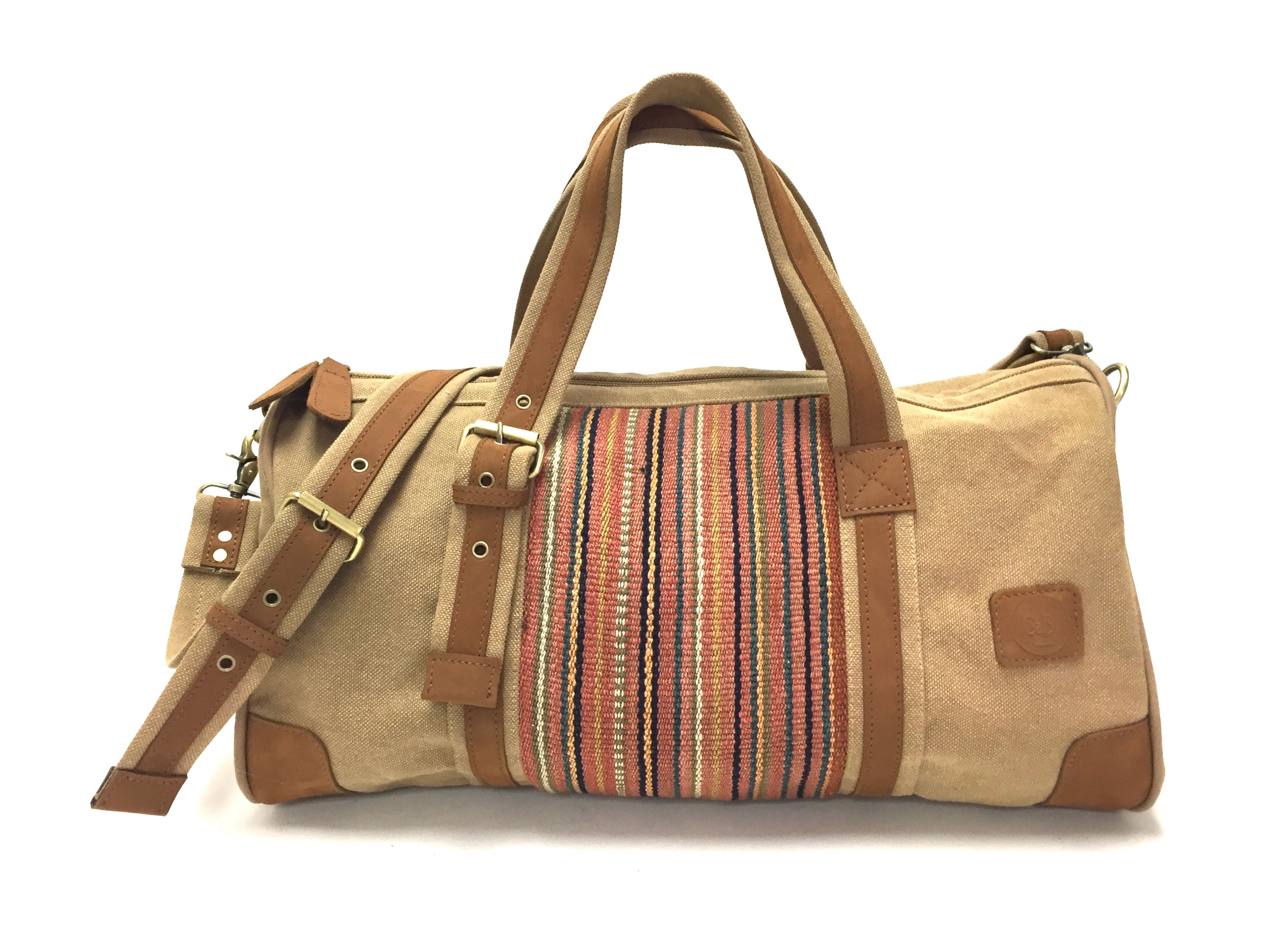 Weekender Tan Travel Bag SOC 1239