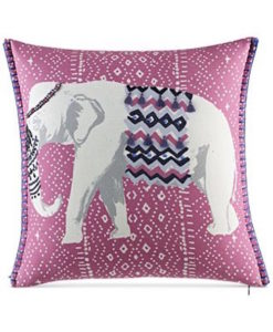Whim By Martha Stewart Eccentric Elephant Pillow SOC 1078