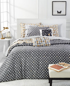 Whim By Martha Stewart Pop Dot Queen Duvet Set SOC 1252