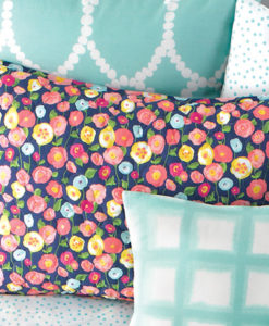Whim By Martha Stewart Poppy Standard Sham SOC 1110