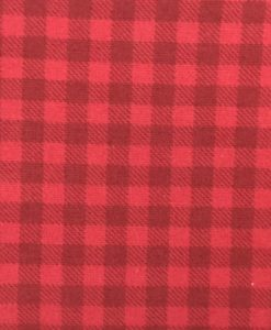 Winter Tartan Euro Detail