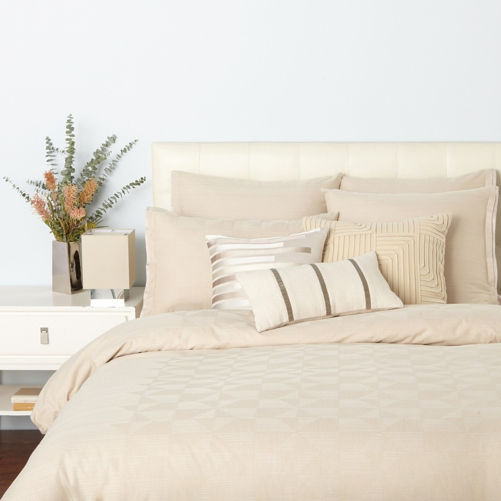 Oake Grids Twin Duvet Set O004