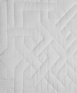 Hudson Park Luxe Athena Queen Coverlet Detail
